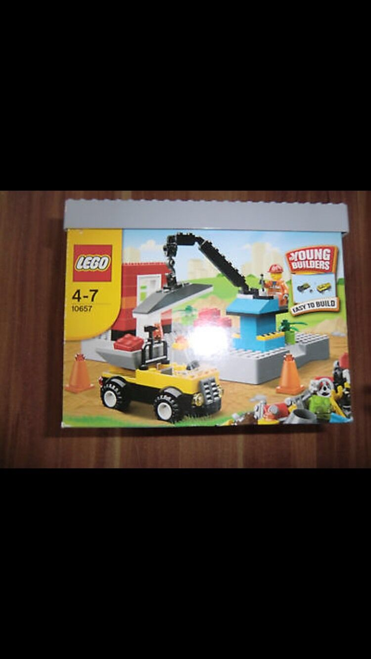 LEGO 10657 - My First Lego Set -  For Young Builders Ages 4 to 7 - New & Sealed