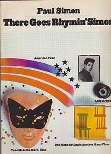 SHEET-MUSIC-PAUL-SIMON-THERE-GOES-RHYMIN-039-SIMON-88-pages-incl-lyrics