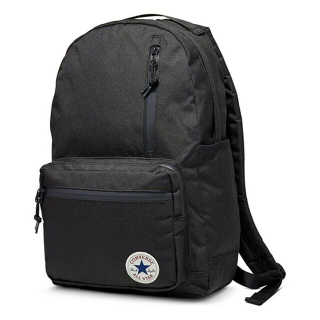 9180f2eeaea6 Frequently bought together. Converse Chuck Taylor All Star Go Black Backpack  ...