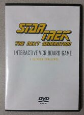 Star Trek The Next Generation A Klingon Challenge Board Game DVD (VHS Version)