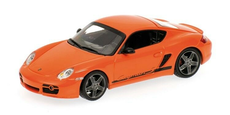Scale model 1 43 Porsche Cayman - orange 2008