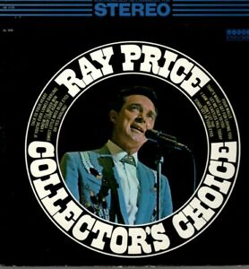 Ray Price Vinyl LP Columbia Records 196?, HS-11172, Collector's Choice ~ VG+