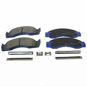 Integrally Molded Front,Rear MOTORCRAFT Superduty Disc Brake Pad Set-Pads