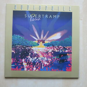 SUPERTRAMP-Paris-Double-vinyl-Audiophile-series-half-speed-master-Canada-1982
