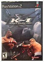 K-1 World Grand Prix (ps2, 2003) Brand Sealed - Free U.s. Shipping