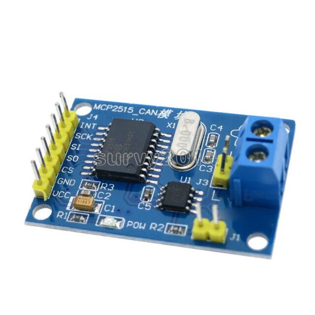 MCP2515 CAN Bus Module TJA1050 Receiver SPI Module 51Microcontroller for Arduino