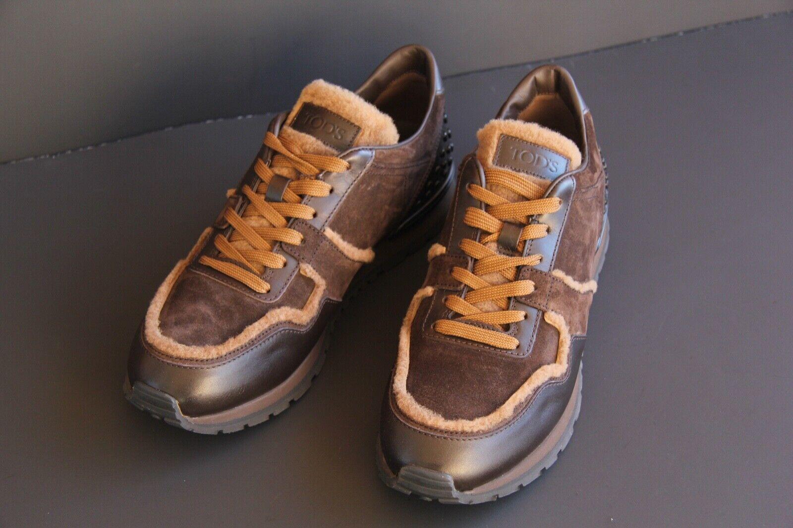 TOD'S LUSSO SCARPE UOMO scarpe da ginnastica ALL. Dots SPOILER tg. 9 (43) neu&ovp TODS