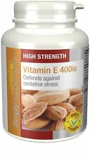 Vitamin E 400iu 240 Capsules Promotes Healthy Skin & Heart |UK Made High Quality