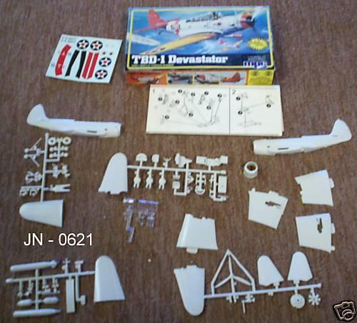TBD-1 Devastator - MPC Model Kit (NOS)