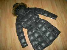 CALVIN KLEIN CK Daunenmantel Mantel coat m. Kapuze grau * XS 34 * IT 40 * NEU
