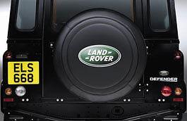 Land Rover Defender Rear Spare Wheel Vinyl Protective Cover 7.50R16  DA2021