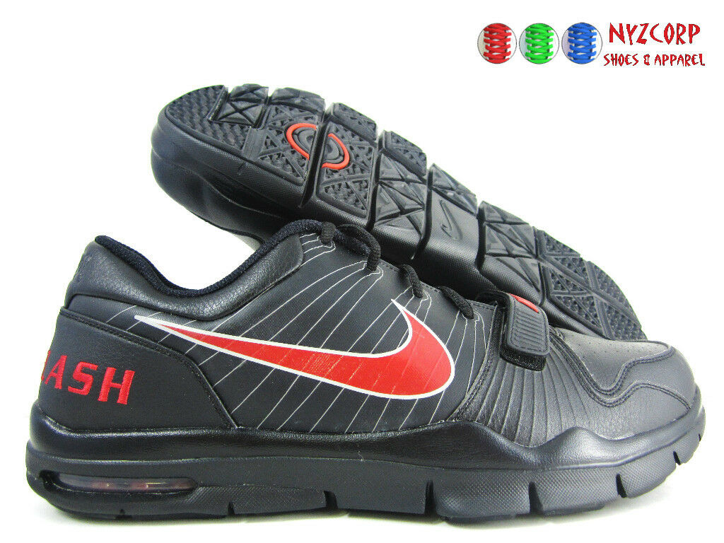 NIKE TRAINER 1 UNLEASHED bajo iD Negro-rojo