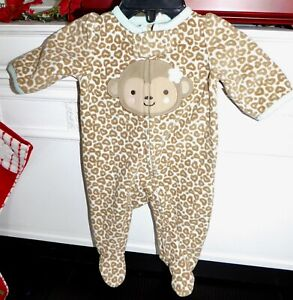 Carter-039-s-Infant-Girls-4-PC-Lot-Pajamas-Sleepwear-Preemie-Newborn-REBORN-DOLL
