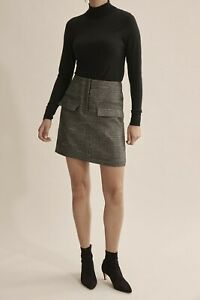 Country-Road-Pocket-Detail-Mini-Skirt-Deep-Khaki