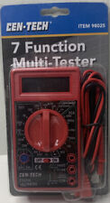 New And Unused Cen Tech 7 Function Digital Multimeter No Batteries Included