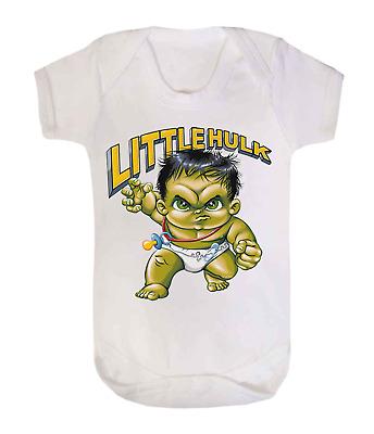 Baby Spiderman Baby Sleep suit Babygrow Novelty Baby Shower Superhero Baby