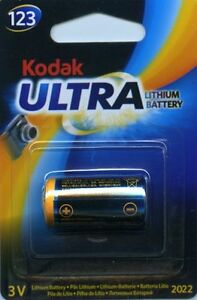 KODAK-Ultra-123-DL123A-CR123A-3V-Batterie-Lithium-Exp-2023