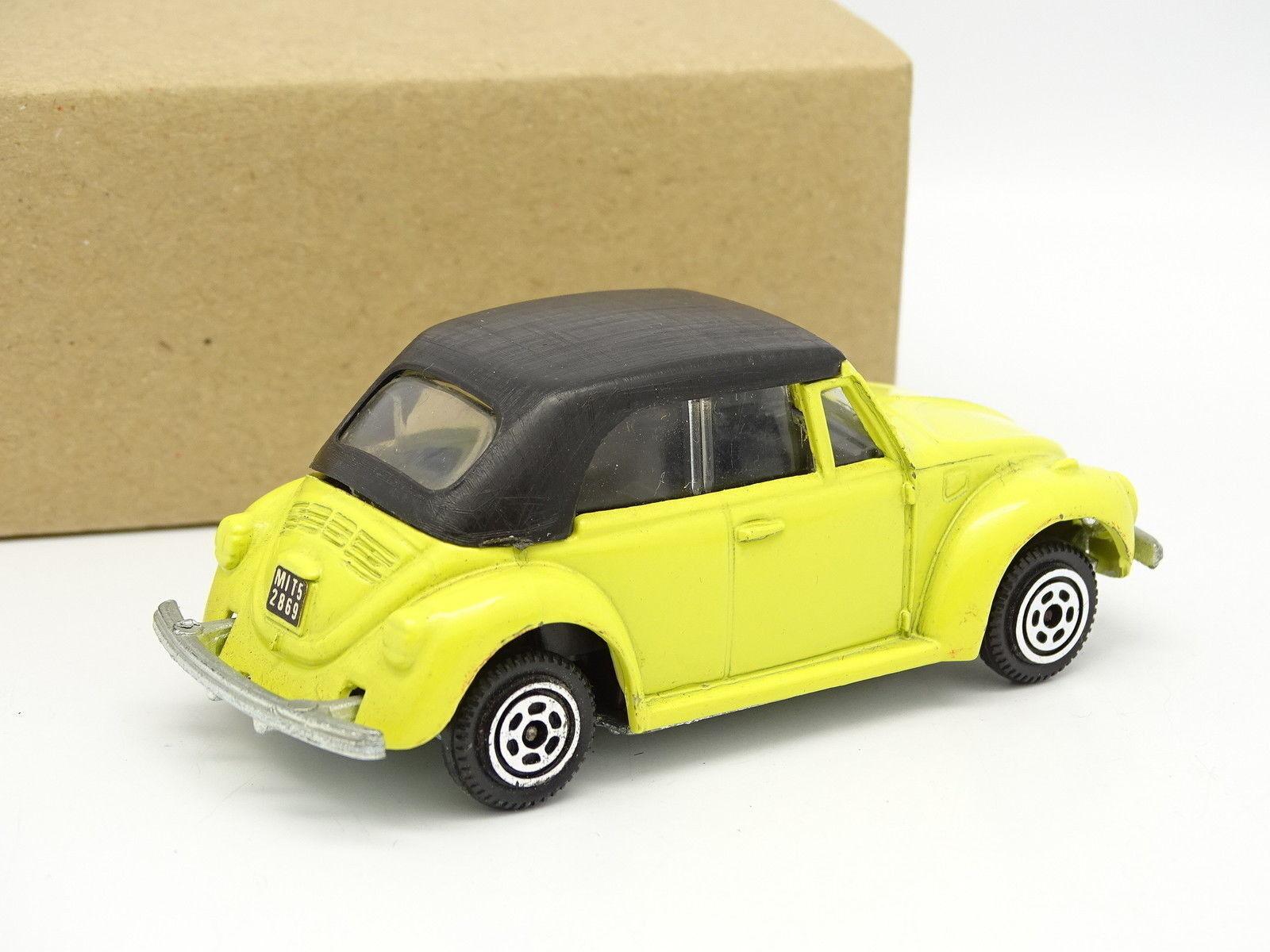 Polistil Sb 1 43 - VW Coccinelle Cabrio Gialla Gialla Gialla 93195e