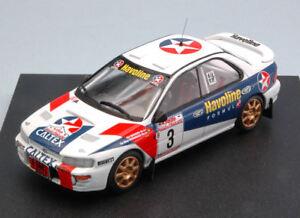 Gagnant Subaru Impreza # 3 Rallye de Thaïlande 1997 R. Madeira / N. Silva Modèle 1:43