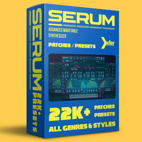 Patches // Presets Bundle 22,000+ Xfer Records ALL GENRES SERUM