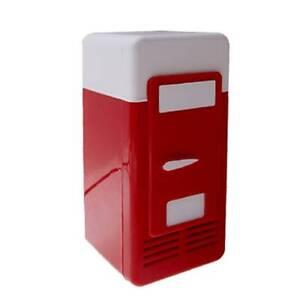 Mini frigo ufficio usb da tavolo scrivania frigo portatile cameretta ebay - Frigo da tavolo ...