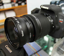 58MM Wide Angle Macro Lens for Canon EF-S 55-250mm f/4-5.6 Lens 50mm f/1.4 Lens
