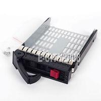 3.5 Sata Sas Hard Drive Tray Caddy For Hp Proliant Dl360 G5 G4p Us Seller