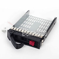 3.5 Sas Hard Drive Tray Caddy For Hp Proliant Ml350 G5 G6 G4p Ship From Usa