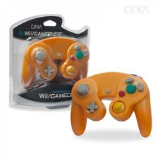 (orange) Nintendo Controller for Wii or GameCube With a 30 Day Guarantee