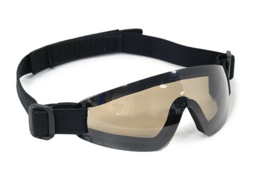 Brown Paintball Airsoft Low Profile Eyewear Goggles Eye protection For Mask F796