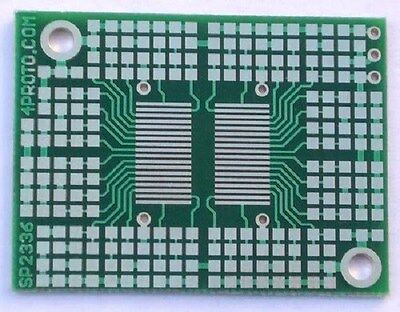 6 PCS SMT Surface Mount PCB Prototype Board 36-Pin TSOP