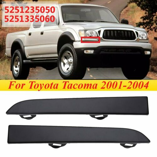 Front Headlight Headlamp Filler Panel Trim For Toyota Tacoma 2001 2002 2003 2004