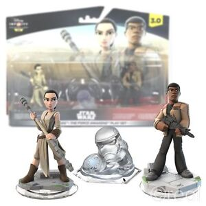 New Disney Infinity 3.0 Star Wars The Force Awakens Playset Rey Finn ...