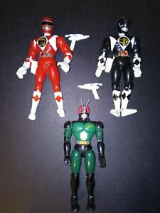 Vintage Action Figures H.20 cm Originali Power Rangers  Bandai 1993 1994 1995