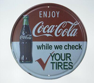 "Coca Cola Soda Drink Advertising Pepsi Coke Bottle Pizza Store Metal Sign 12/""x6/"""