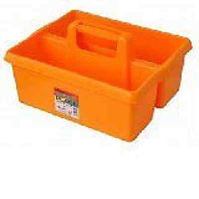 Audace Giallo Tack Vassoio / Tack Box Per L'uso Quando Grooming Cavalli, Made In Uk-mostra Il Titolo Originale Facile E Semplice Da Gestire