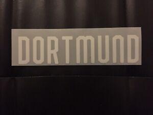 Flocage Name Set  BVB 09 Dortmund  Away.