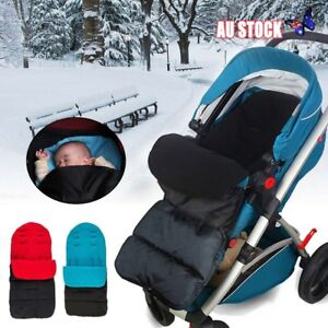 Baby Footmuff for Pushchairs Prams Buggys Joggers Strollers Toddler Cosytoes Winter Universal Waterproof Fabric with Fleece Lining Black Grey