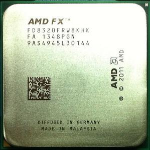 itm AMD FX  Black Edition GHz Eight Core FDFRWKHK OEM TRAY Processor CPU