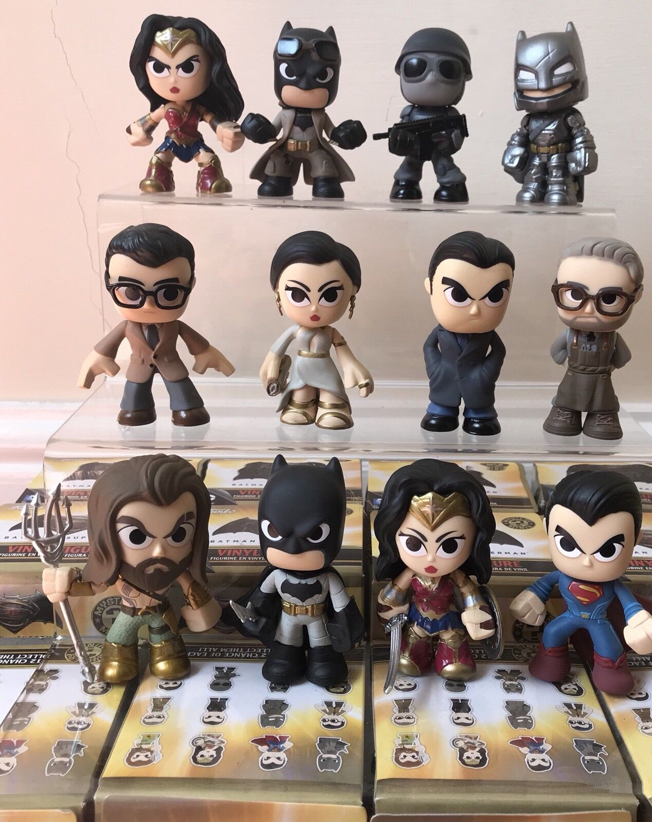 Funko Misterio Mini Batman Vs súperman Set Completo De 12 figuras-Hot Juguetes-Kidrobot