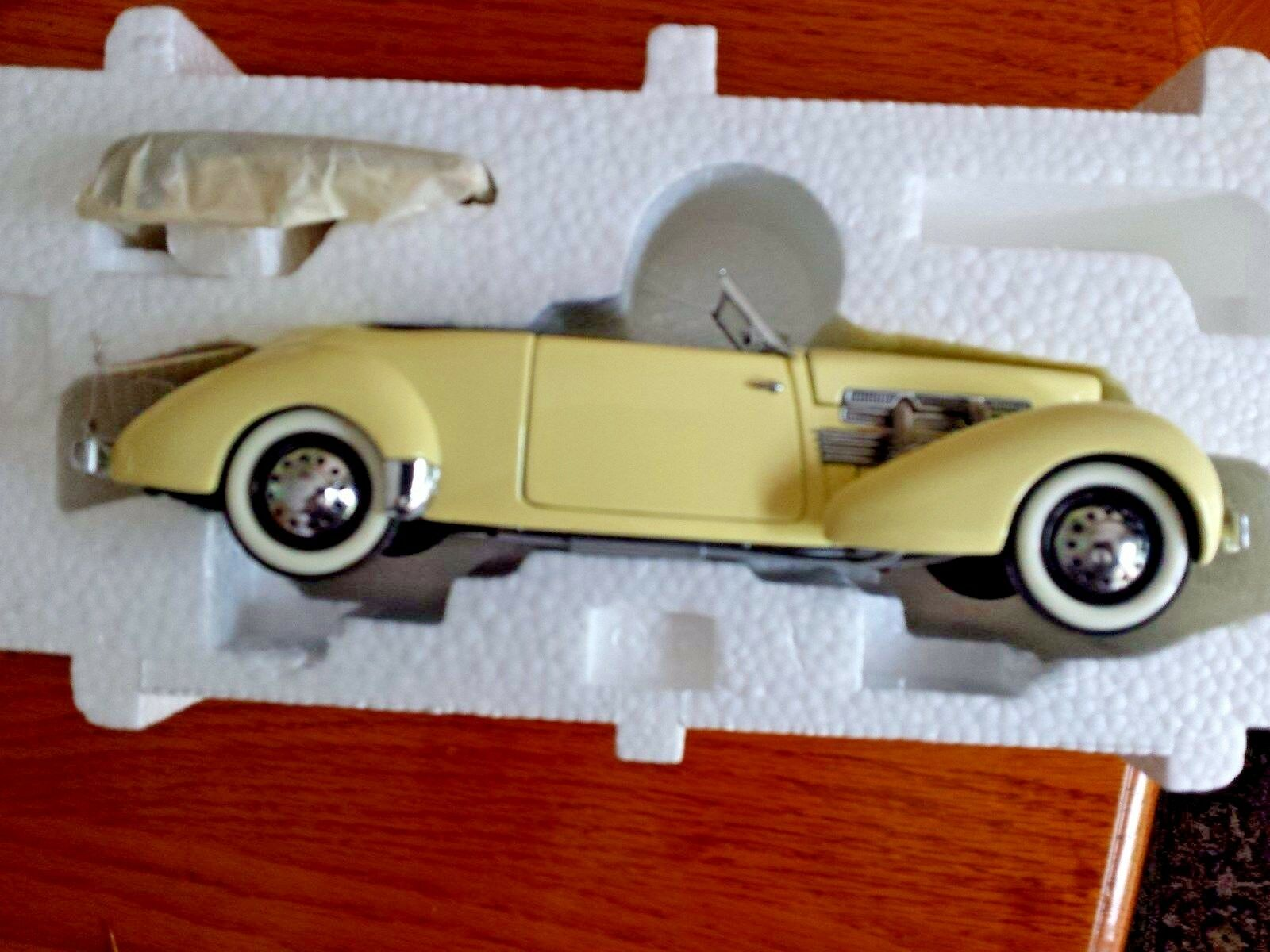 Franklin Comme neuf Cordon 1937 812 PHAETON Coupe 1 24 Scale Diecast A8