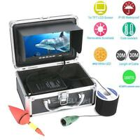 7 Inch Monitor 1000tvl Underwater Fishing Video Camera Kit 6 Pcs Led Lights