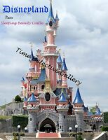 Disneyland Paris Sleeping Beauty Castle Poster - Available In 5 Sizes