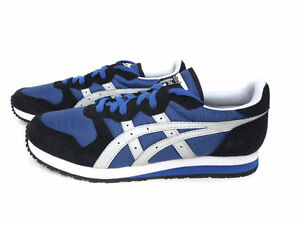 the latest 6f5c4 f725f Details about ONITSUKA TIGER DL301.5610 OC RUNNER Mn's (M) Blue/Black/Grey  Suede Casual Shoes