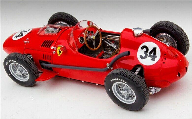 118 EXOTO Ferrari F1 Dino Typo 246 1958 Monaco GP L.Musso  GPC97215 N°34  nuovo