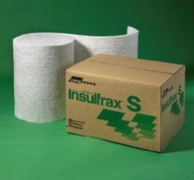 Couverture fibre céramique alternative corps soluble 25mm 50mm 96kgm3 128kgm3 densité