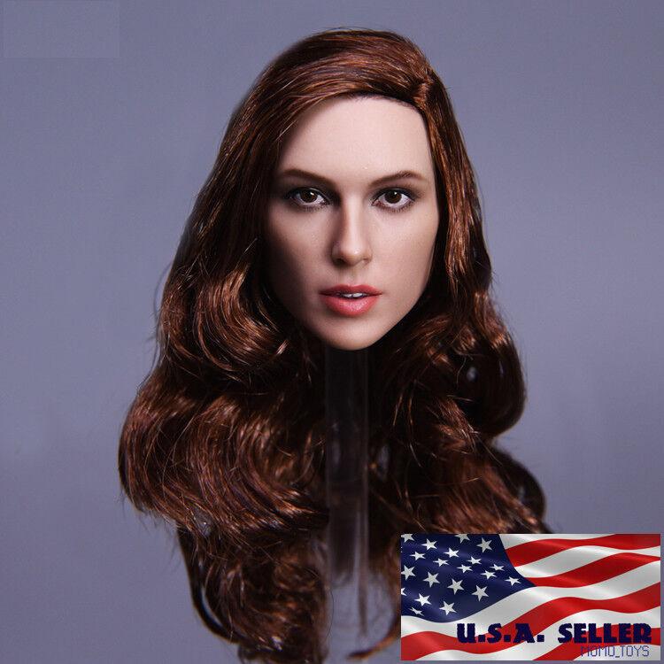 1 6 Female Head Sculpt Gal Gadot Wonder Woman A For PHICEN Hot Toys Figure ❶USA❶