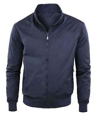 Giubbotto uomo elegante giacca cappotto casual slim fit giubbino invernale toppe ebay neri inverno