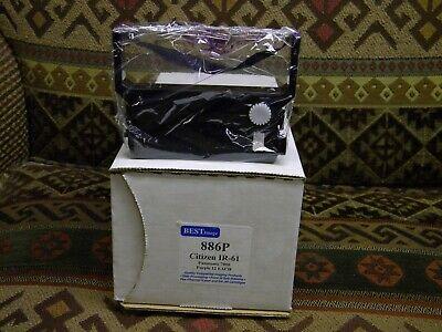 Six IR-61 Ink Ribbons Purple Citizen IR61 DP600 IDP3550 Free ...