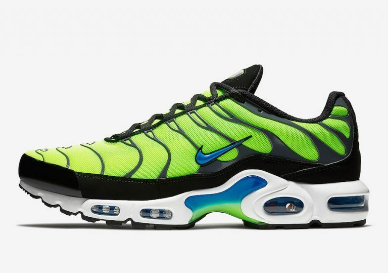 b4b0ae2d1ce Nike Air Max Plus Tuned TN 1 Scream Green Volt Yellow bluee Black  852630-700. Nike Air Jordan Retro 11 Low ...